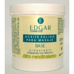 Aceite solido masaje base EDGAR