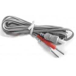 Cable GLOBUS conexión electrodos 2 canales