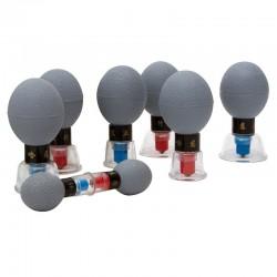 VENTOSA de plástico magneticas (8 unid.)