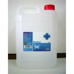 ALCOHOL ETÍLICO 96º (5 litros)