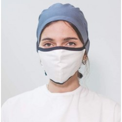 Máscara sanitária reutilizável