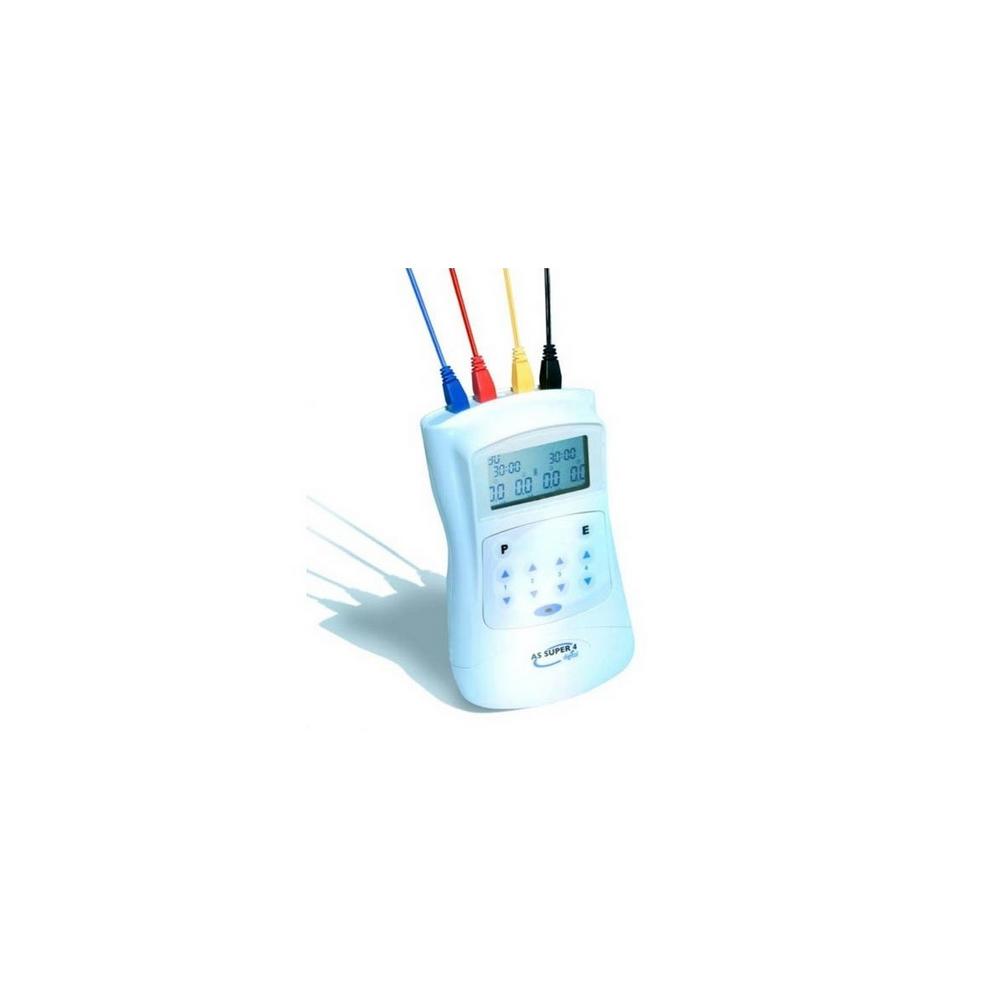 Electroestimulador acupuntura AS SUPER 4 digital