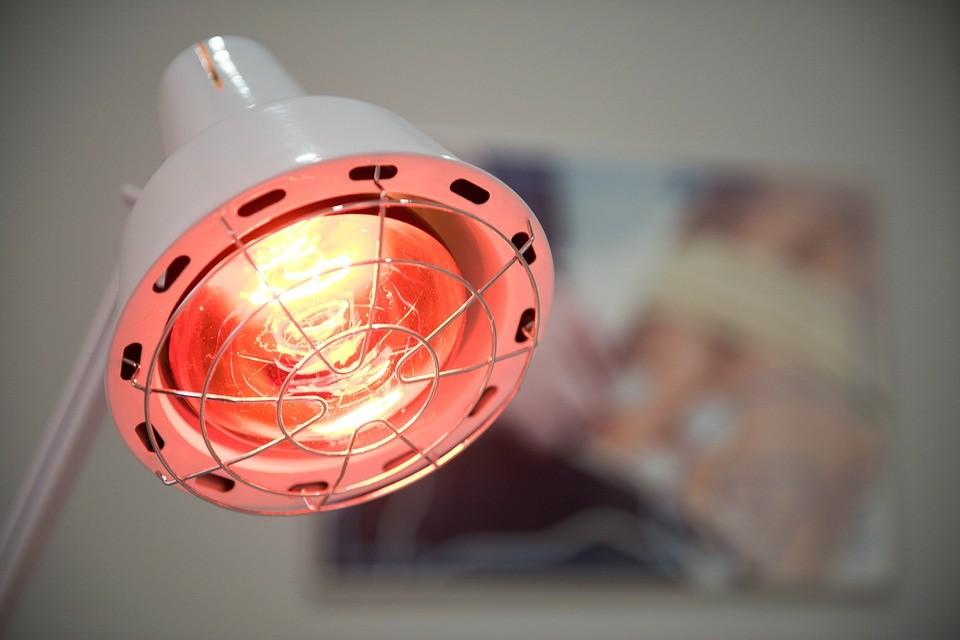 Lámparas infrarrojos